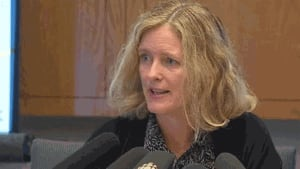 Dr. Eilish Cleary, New Brunswick's chief medical officer of health