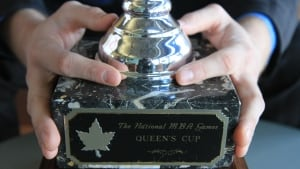 MBA Games Queen's Cup trophy