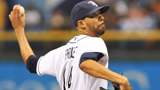 Rays ace David Price, the subject of trade speculation after going 10-8 with a 3.33 earned-run average last year, avoided arbitration and signed a one-year, $14 million US deal with the club.
