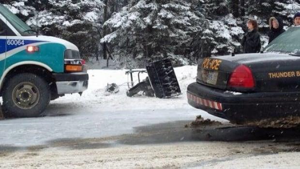 snowblower accident