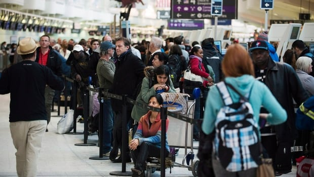 Thousands of passengers were affected by an hours-long shut down at Toronto's Pearson airport last week.