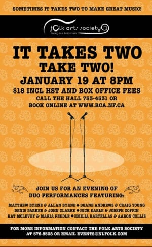 It takes two poster