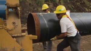 Northern Gateway pipeline politics