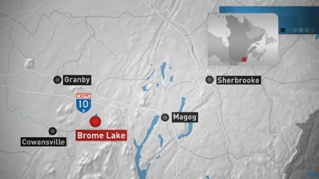 Brome Lake map