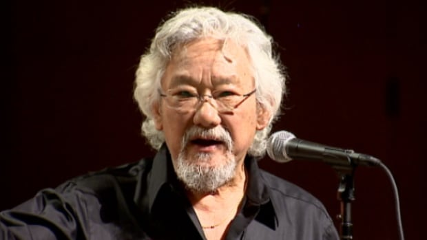 Environmentalist David Suzuki's The Blue Dot Tour includes 20 stops from St. John's to Vancouver. He's joined by guests like Margaret Atwood, Neil Young and wildlife artist Robert Bateman.