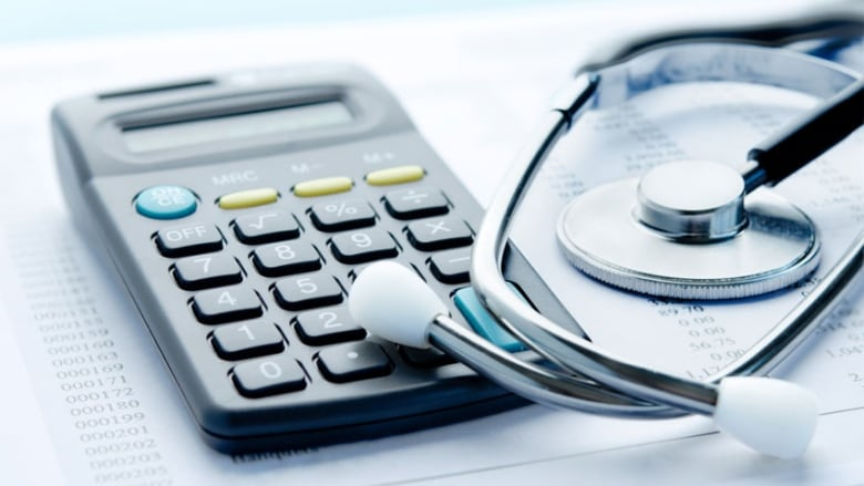 Doctor posts his own finances online to make point about