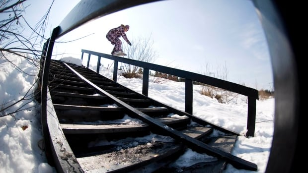 Molly Milligan, originally from Yellowknife, is a slopestyle snowboarder who does tricks on rails and off 80-foot snow jumps. The slopestyle athletes will be named to Team Canada Tuesday, and Milligan could be on the list.
