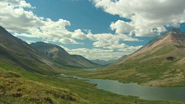 A crew from 60 Minutes is expected to arrive in the Peel Watershed later this week. Linda Champion's husband, Jimmy Johnny, will take them flying. 'They'll probably do some talking, then Jim will show them old mines and the Snake River,' she says.