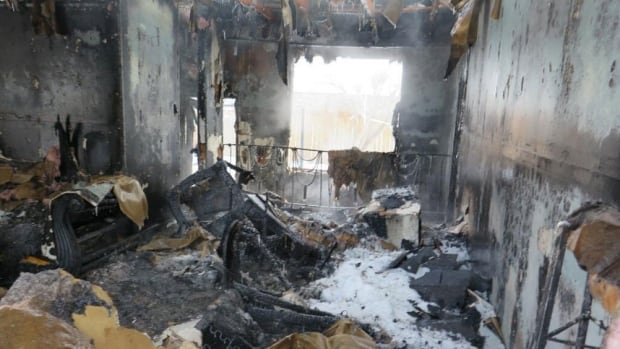 The interior of 68 Wigan Drive after a two-alarm blaze on Jan. 20 forced nine from their home. Damage was estimated at $450,000.