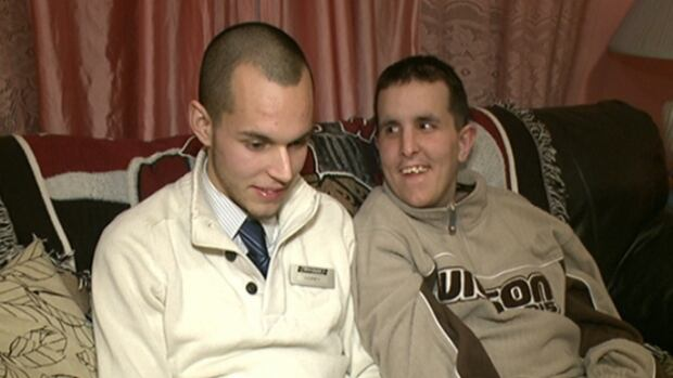 Corey, 20, has been caring for his brother Jessie since their mother died just over a year ago.