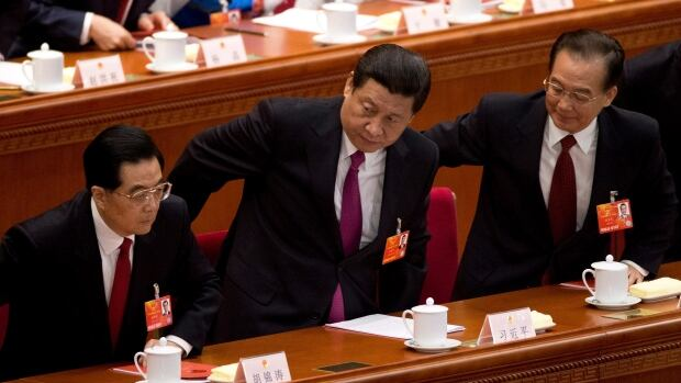 Chinese leaders, from left, ex-president Hu Jintao, President Xi Jinping and former premier Wen Jiabao all have family involved in offshore tax havens, leaked files show. Xi in particular has pledged to crack down on corruption among China's elite.