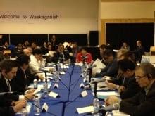Eeyou Istchee-James Bay Regional Government meeting