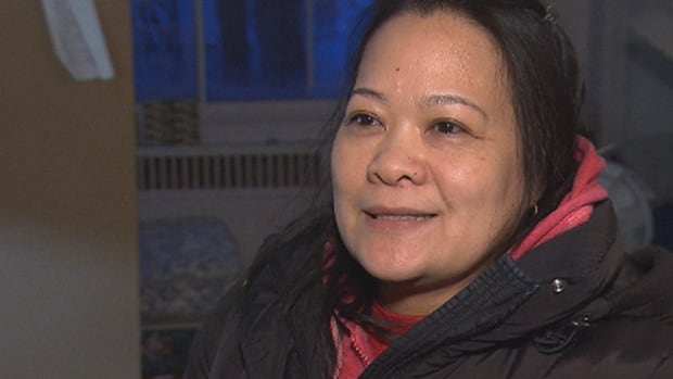 Charito Valdez says she hasn't had heat in her St-Laurent apartment for six days.