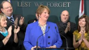 Kathy Dunderdale announces resignation from politics