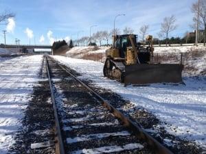 CN railway track
