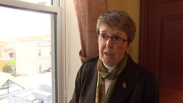 Sister Sharon Fagan, congregation leader for the Presentation Sisters, says she hopes the city will reconsider its rejection of windows that open sideways at the convent.