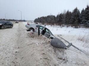 Expressway collision
