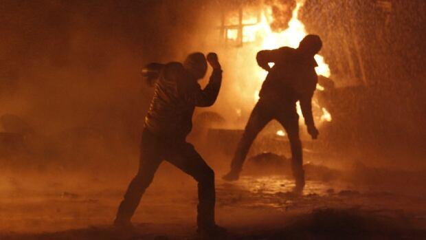 hi ukraine protesters fire