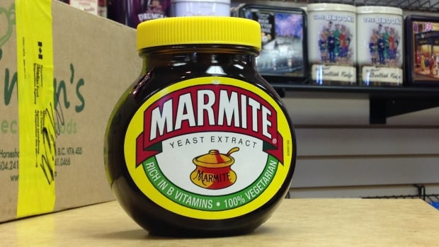 Marmite is made from yeast extract, used as a food spread and in a variety of other cooking. The CFIA says a type not meant for sale in Canada was brought into the country, then seized - but types that are supposed to be sold here will continue to be allowed.