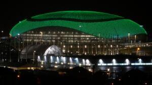 Bolshoy stadium in Sochi
