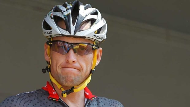 Former cyclist Lance Armstrong was given a lifetime ban for doping.