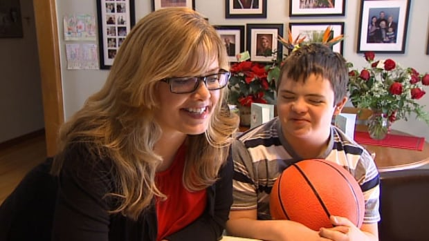 Catherine MacInnis and Cameron Gordon have been watching Gordon's moment of basketball glory on YouTube.
