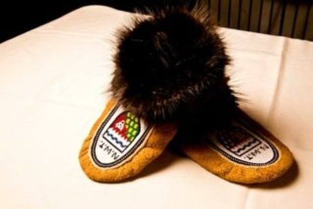 Olympic moosehide moccasins