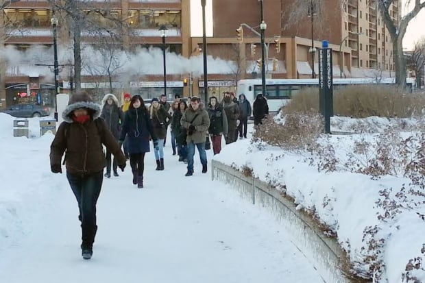 Cold students