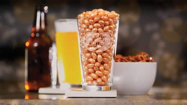 The Jelly Belly Candy Company says people have been requesting beer-flavoured jelly beans for decades. Their new Hefeweizen-inspired treat took three years to develop.