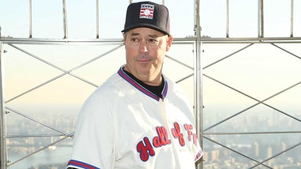 Greg Maddux began his big league career with the Chicago Cubs from 1986-92, winning the first of his four Cy Young Awards in his final season at Wrigley Field.
