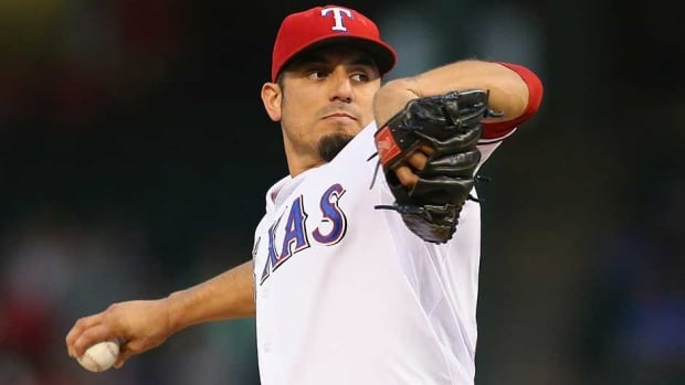 Matt Garza went 10-6 with a 3.82 ERA last year for the Chicago Cubs and Texas Rangers, striking out 136 in 155 1-3 innings.