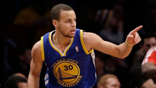 Golden State Warriors' Stephen Curry became the franchise's first All-Star starter since Latrell Sprewell in 1995.