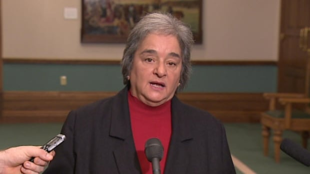 NDP leader Lorraine Michael says she sees spending problems at Eastern Health as a warning flag.