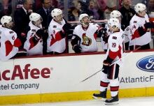 Senators-Capitals Hockey