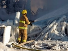 Quebec Fire 20140123