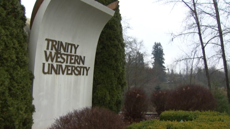 Staff and faculty at Trinity Western University will still have to sign the  strict community covenant, but it's now optional for students. (CBC)