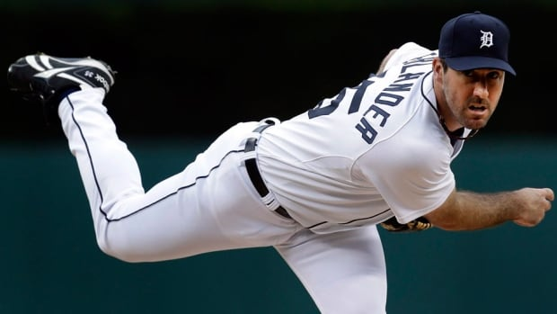 Detroit Tigers ace Justin Verlander went 13-12 last year with a 3.46 ERA for the AL Central champions.