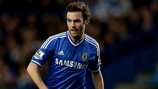 Juan Mata played 135 times for Chelsea following his move from Spanish team Valencia in 2011.