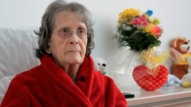 Nelida Pettigrew, a resident at Résidence du Havre, is now staying at a seniors' home in nearby Trois-Pistole after narrowly escaping the fire at the seniors' home in L'Isle-Verte with the help of a neighbour.
