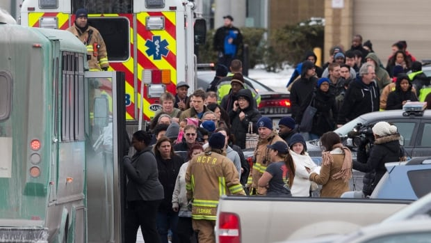 Police say Darion Marcus Aguilar of College Park, Maryland, arrived at the mall shortly after 10 a.m. on Saturday armed with a Mossburg 12-gauge shotgun and used it to kill two workers at a store.