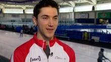 Vincent De Haitre Speed Skater Olympics
