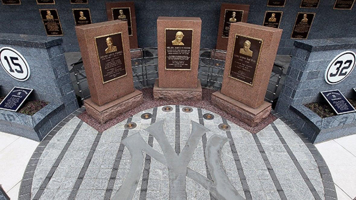 Yankees Monument Park Tour
