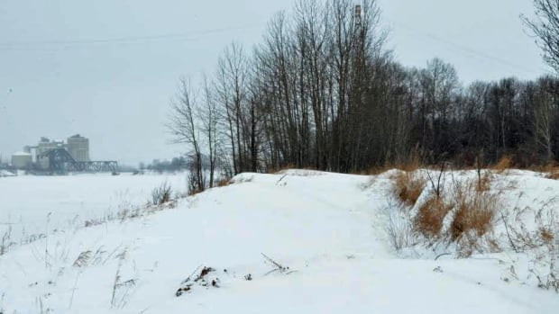 This site on the southern bank of the Kaministiquia River was the original location of the Jesuit mission that would become Fort William First Nation. A local man wants to recreate the original mission as a historical site.