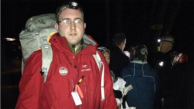 Curtis Jones led the rescue of eight lost hikers on Grouse Mountain on Sunday night, the day after the memorial to his father, former team leader Tim Jones.
