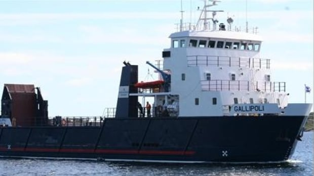 The MV Gallipoli will continue to serve Ramea.