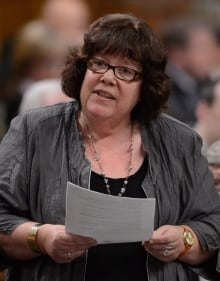 New Democrat MP Libby Davies