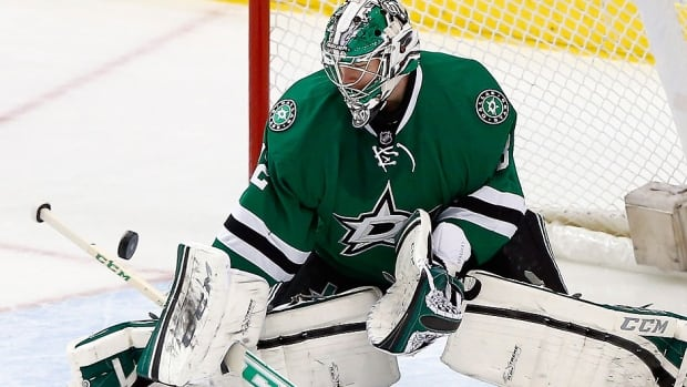 Stars goalie Kari Lehtonen, the NHL's first star of the week, led his team to three wins with a pair of shutouts. He also posted a 1.25 goals-against average and .944 save percentage.