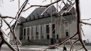 Supreme Court of Canada file picture CP