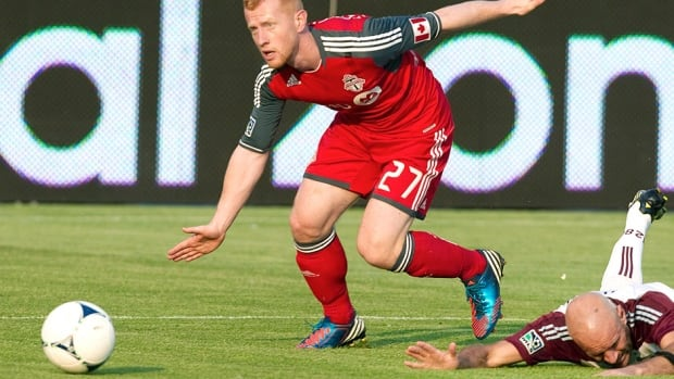 In a cost-cutting move, Toronto FC traded defender Richard Eckersley to the Red Bulls. The MLS Players Union listed Eckersley's salary last season at $310,000 US, second-highest among the numbers made public for Toronto players.