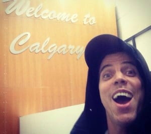 Steve-O in Calgary